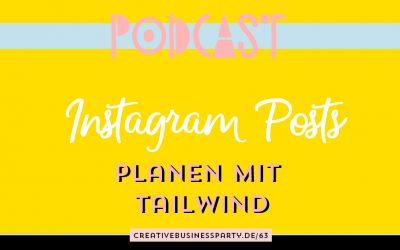 Instagram Posts planen mit Tailwind