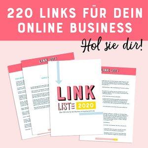 Hol sie dir: 220 Links für dein Online Business