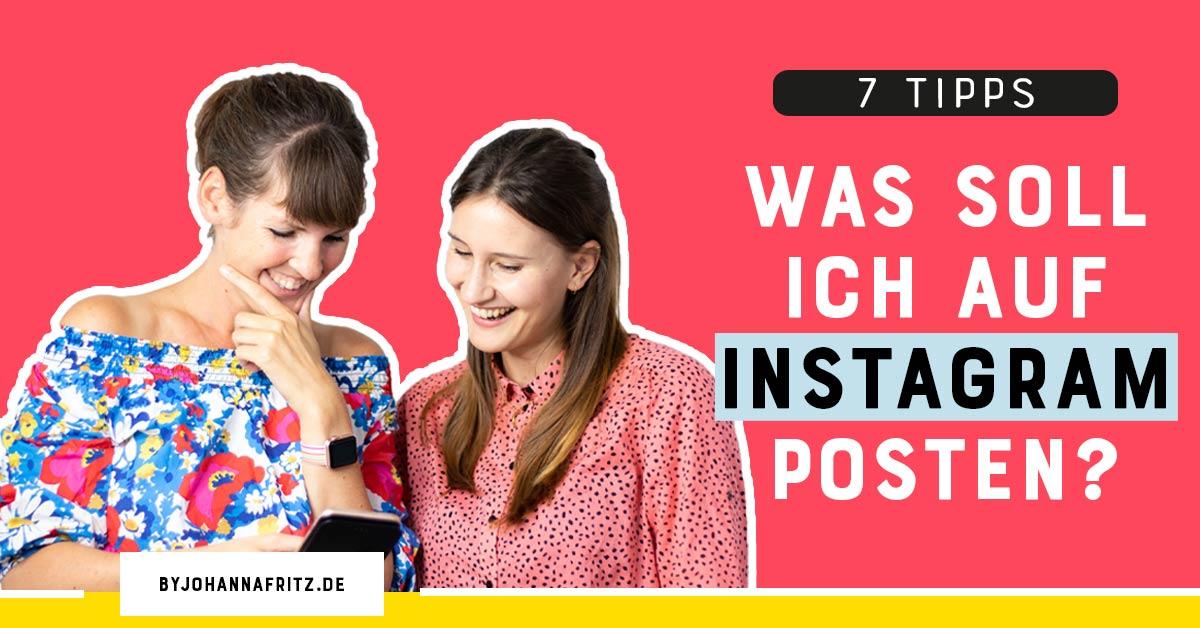 themen fuer instagram posts finden - by johanna fritz - content plan freebie