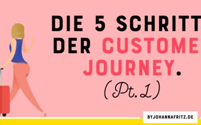 Die fünf Schritte der Customer Journey – Teil 1/6