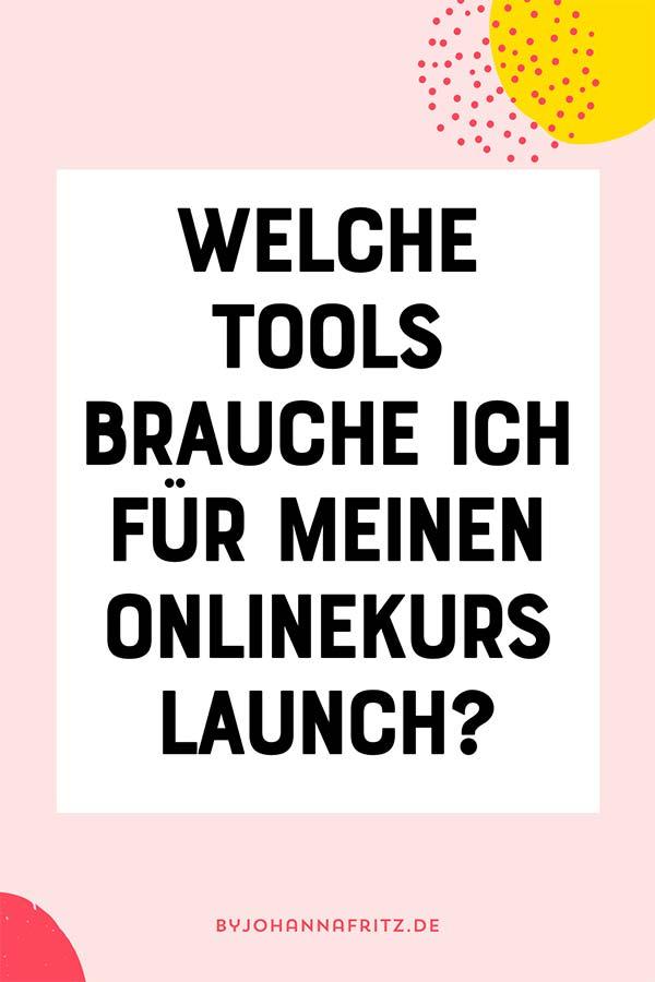 Diese zwei Tools brauchst du für deinen Onlinekurs Launch