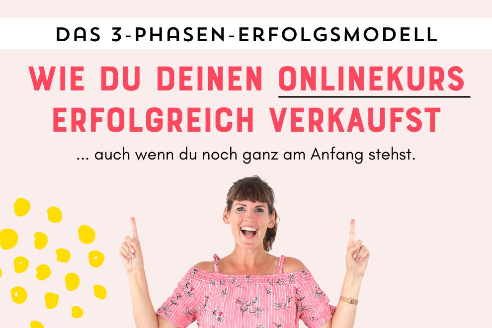 Wie du deinen Onlinekurs erfolgreich verkaust: Jetzt kostenlos zum Workshop anmelden - Johanna Fritz